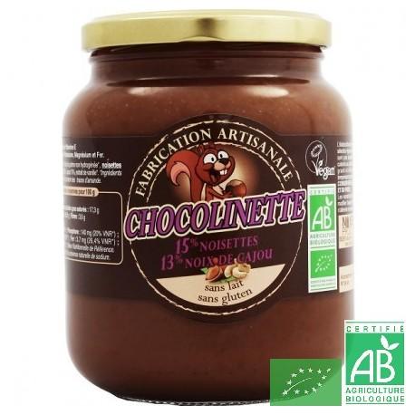 Chocolinette noiseraie productions