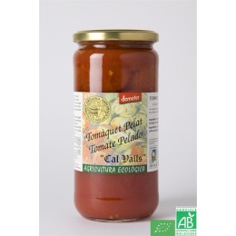 Tomates entieres pelees cal valls