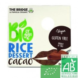 Dessert riz chocolat 4x110g the bridge