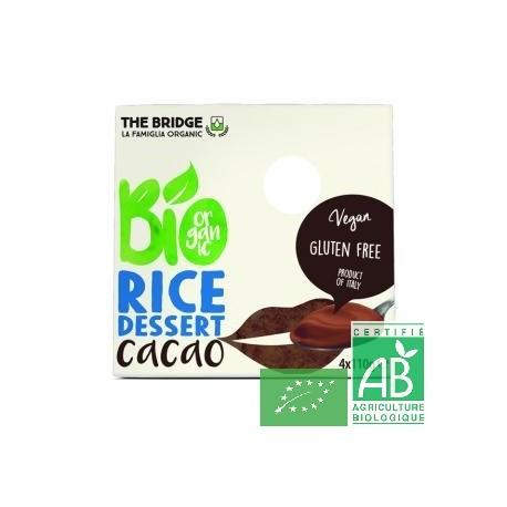 Dessert riz chocolat 4x110g the bridge