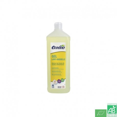 Gel lave vaisselle ecodoo
