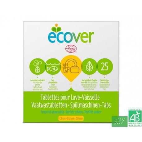 Tablettes lave vaisselle ecover