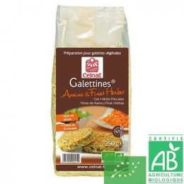 Galettines avoine fines herbes celnat
