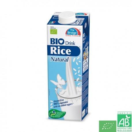 Lait de riz nature