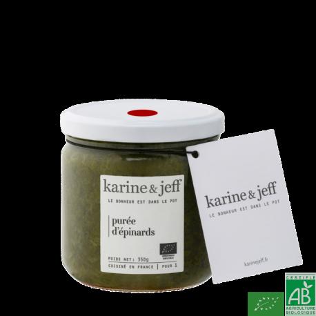 Puree d épinards karine et jeff