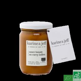 Sauce tomate au curry indien karine et jeff