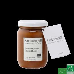 Sauce tomate napolitaine karine & jeff