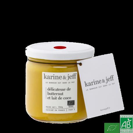 Delicatesse de butternut au lait de coco karine &
