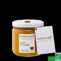 Puree de carottes karine & jeff