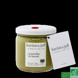 Mousseline de brocoli karine et jeff