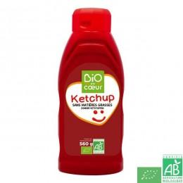 Ketchup flacon souple Bio par coeur