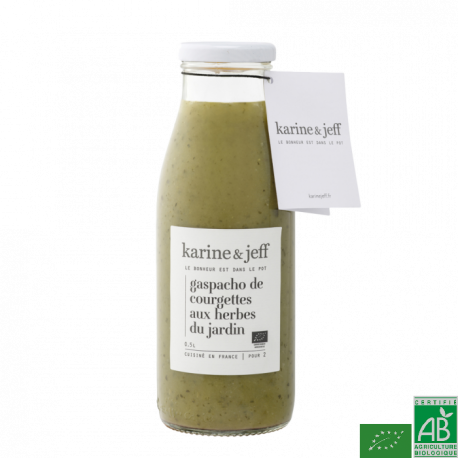 Gaspacho courgettes 0.5l karine&jeff