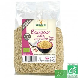Boulgour riz coco safran Priméal