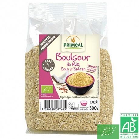 Boulgour riz coco safran primeal