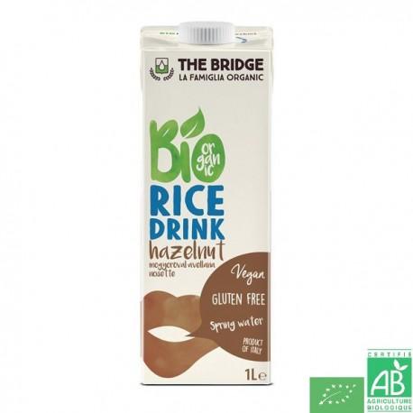 Boisson riz noisette the bridge