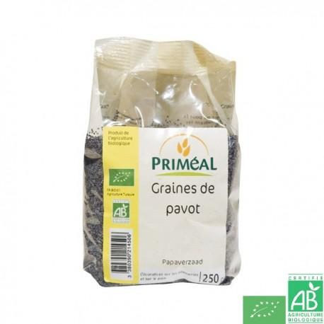 Graines de pavot 250g primeal