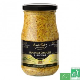 Moutarde a l ancienne en grains 200g emile noel