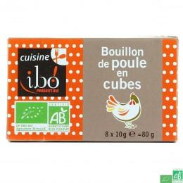Bouillon de poule cubes ibo