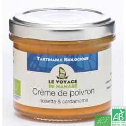 Crème de poivron Le voyage de Mamabé Bio