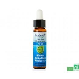 Elixir floral mimulus n°26 ladrome