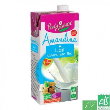 Lait d'amande Amandina - Perlamande