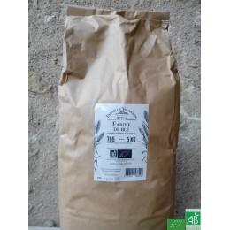 Farine de ble t65 5 kg ferme de vaumorin