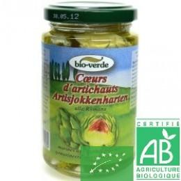 Cœurs d'artichauts Bio Verde