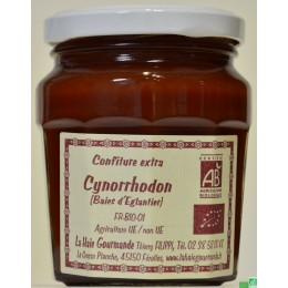 Confiture de cynorrhodon la haie gourmande