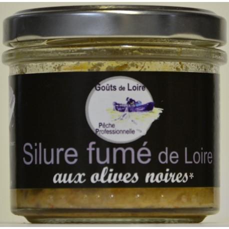 Silure fume aux olives noires goûts de loire