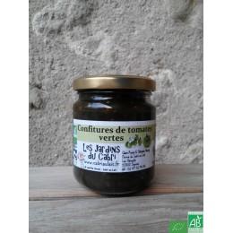 Confiture de tomates vertes cabri au lait