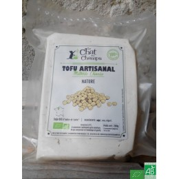 Tofu artisanal nature le chat des champs