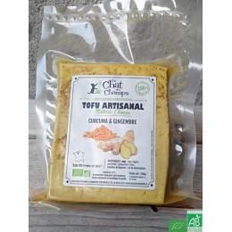 Tofu artisanal curcuma et gingembre le chat des ch